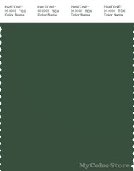 PANTONE SMART 19-6311X Color Swatch Card, Greener Pastures