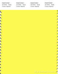 PANTONE SMART 12-0645TN Color Swatch Card, Lemon Tonic