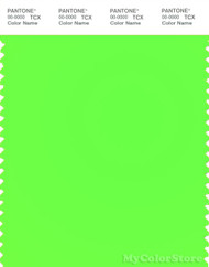 PANTONE SMART 13-0340TN Color Swatch Card, Green Gecko