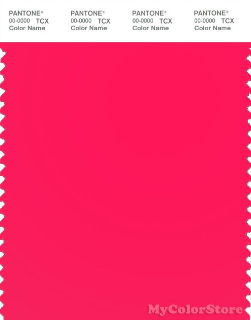PANTONE SMART 16-1650TN Color Swatch Card, Diva Pink