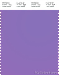 PANTONE SMART 16-3828TN Color Swatch Card, Purple Hebe
