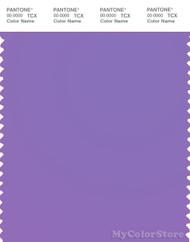 PANTONE SMART 16-3828TN Color Swatch Card, Purple Hebe