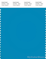 PANTONE SMART 17-4436TN Color Swatch Card, Atomic Blue