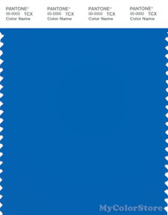 PANTONE SMART 18-4245TN Color Swatch Card, Electric Blue Lemonade