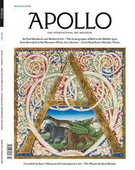 Apollo Magazine Subscription (UK) - 12 iss/yr