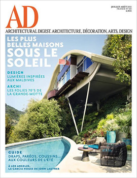 Architectural Digest Magazine Subscription (France) - 10 iss/yr
