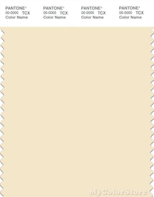 PANTONE SMART 11-0510X Color Swatch Card, Afterglow