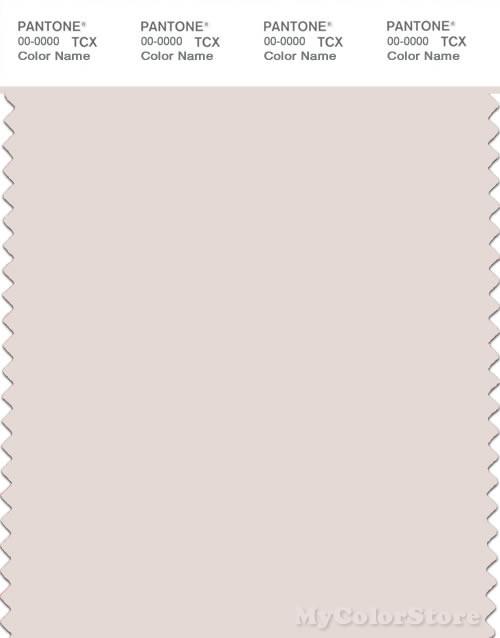 PANTONE SMART 11-0603X Color Swatch Card, Pastel Parchment