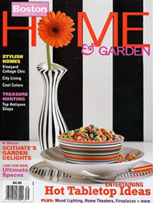 Bostons Home And Garden Magazine Subscription (US) - 4 iss/yr