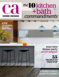 California Home And Design Magazine Subscription (US) - 4 iss/yr