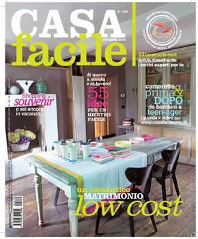 Casa facile magazine subscription italy for Riviste di arredamento interni