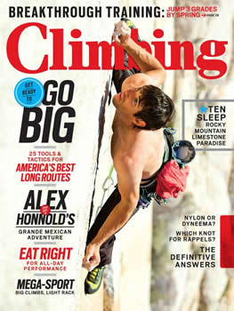 Climbing Magazine Subscription (US) - 9 iss/yr