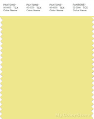 PANTONE SMART 11-0622X Color Swatch Card, Yellow Iris