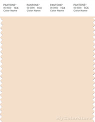 PANTONE SMART 11-0809X Color Swatch Card, Ecru