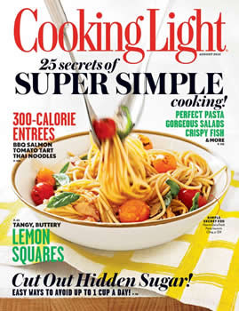 Awesome Cooking Light Magazine Subscription (US)   10 Iss/yr