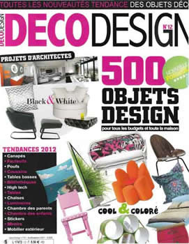 Deco Design Magazine Subscription (France) - 6 iss/yr