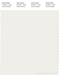 PANTONE SMART 11-4201X Color Swatch Card, Cloud Dancer
