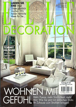 elle decoration magazine subscription germany. Black Bedroom Furniture Sets. Home Design Ideas