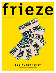 Frieze Magazine Subscription (UK) - 8 iss/yr