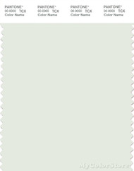 PANTONE SMART 11-4804X Color Swatch Card, Lightest Sky