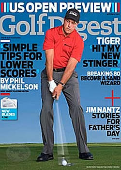 Golf Digest Magazine Subscription (US) - 12 iss/yr