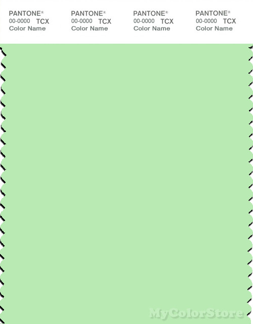 PANTONE SMART 12-0225X Color Swatch Card, Patina Green