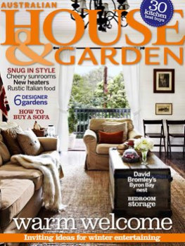 House And Garden Magazine Subscription (Australia)   12 Iss/yr