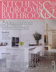 Kitchen Bedrooms And Bathrooms Magazine Subscription (UK) - 12 iss/yr