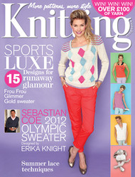 Knitting Magazine Subscription (UK) - 12 iss/yr