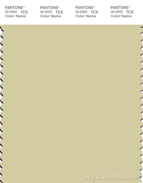 PANTONE SMART 12-0418X Color Swatch Card, Hay