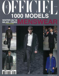L Officiel 1000 Models For Men Magazine Subscription (France) - 2 iss/yr
