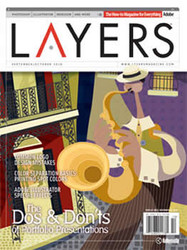 Layers Magazine Subscription (US) - 6 iss/yr