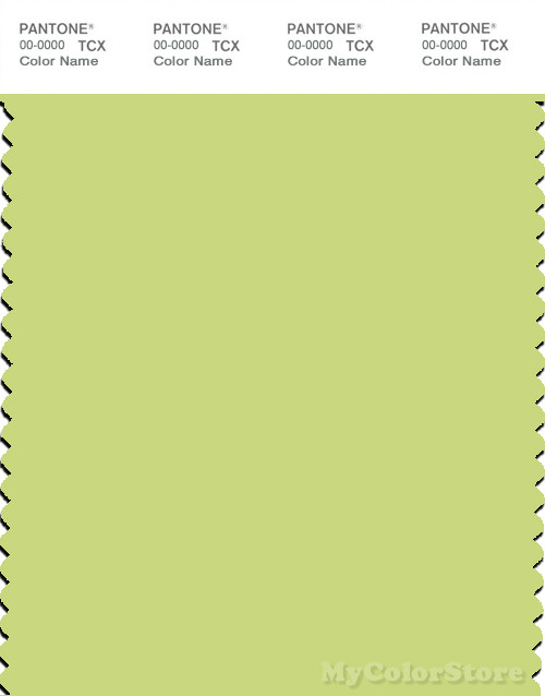 PANTONE SMART 12-0435X Color Swatch Card, Daiquiri Green