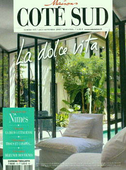 maisons cote sud magazine subscription france. Black Bedroom Furniture Sets. Home Design Ideas