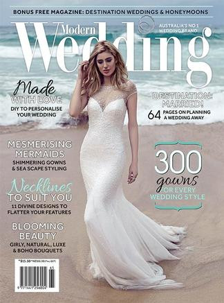 Modern Wedding Magazine Subscription Australia 6 Iss Yr