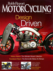Motorcycling Robb Report Magazine Subscription (US) - 6 iss/yr