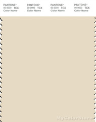 PANTONE SMART 12-0703X Color Swatch Card, Seedpearl