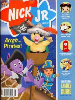 Nick Jr Family Magazine Subscription (US) - 9 iss/yr