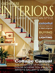 Old House Interiors Magazine Subscription (US) - 6 iss/yr
