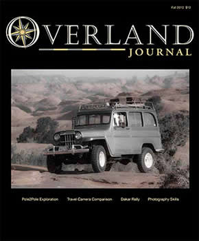 Overland Journal Magazine Subscription (US) - 5 iss/yr