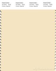 PANTONE SMART 12-0713X Color Swatch Card, Almond Oil