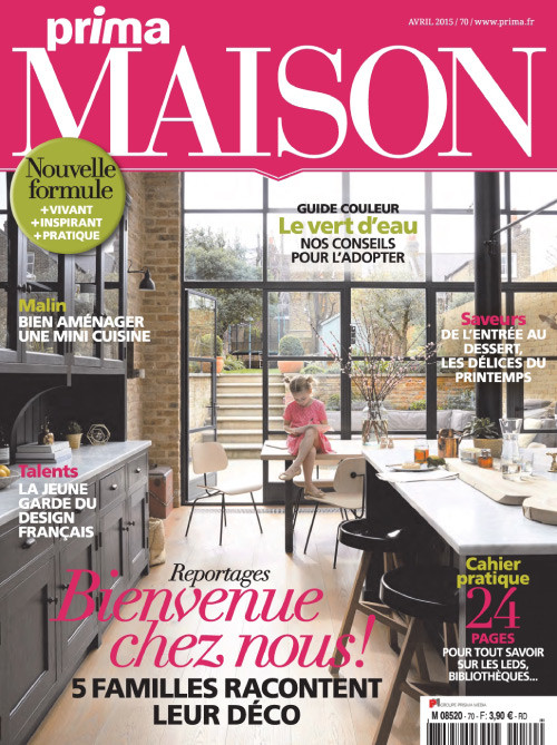 Prima maison magazine subscription france for Magazine maison
