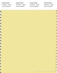PANTONE SMART 12-0721X Color Swatch Card, Lemonade