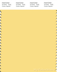 PANTONE SMART 12-0727X Color Swatch Card, Sunshine