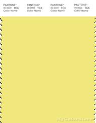 PANTONE SMART 12-0740X Color Swatch Card, Limelight