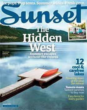 Sunset Magazine Subscription (US) - 12 iss/yr