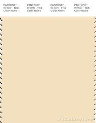 PANTONE SMART 12-0815X Color Swatch Card, Vanilla Custard