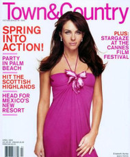 Town And Country Magazine Subscription (US) - 10 iss/yr