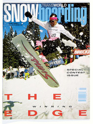 Transworld Snowboarding Magazine Subscription (US) - 12 iss/yr