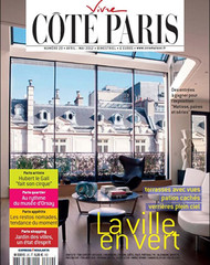 Vivre Cote Paris Magazine Subscription (France) - 4 iss/yr